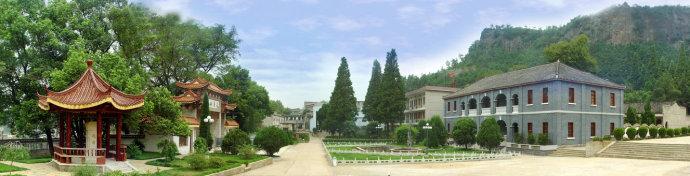 古典浮中 美丽校园